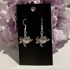 Sea Turtle Dangle Fashion Earrings
